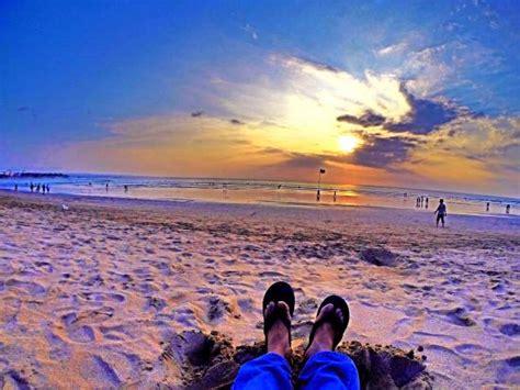 sunset di pantai kuta   Picture of Kuta Beach   Bali, Kuta