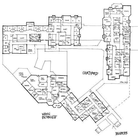 mental hospital floor plan country hospitals 187 garry coff consulting services