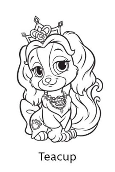 coloring pages princess pets disney s princess palace pets free coloring pages and