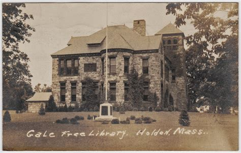 holden ma county rppc gale library holden ma massachusetts nr paxton