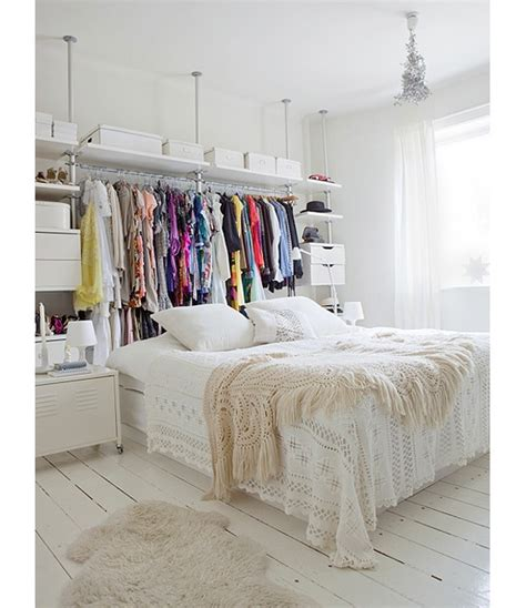 Make More Room In Closet by 13 Ways To Make Your Room Without A Closet Work