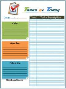 daily task list template daily task list template daily planners