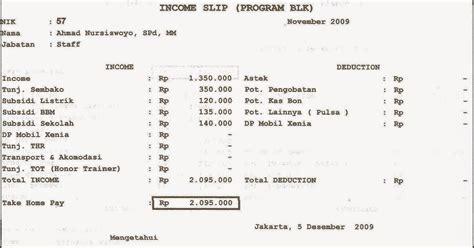 Slip Gaji Karyawan Mingguan | contoh slip gaji mingguan inventors day