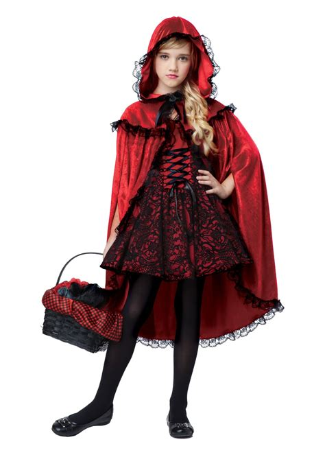 little red riding hood costumes adult kids red riding red riding hood girls costume general category