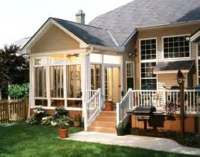 Patio Room Designs Build Small Sunroom On Deck Houses Plans Designs