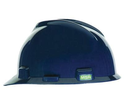 Safety Helmet Viva Fas Trac msa v gard fas trac suspension hat safety helmet blue esafety supplies inc