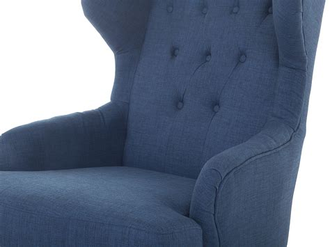 dark blue armchair armchair dark blue upholstered settee alta