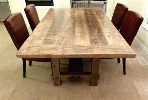 dining room table plans woodworking barn wood table plans reclaimed barn wood dining table