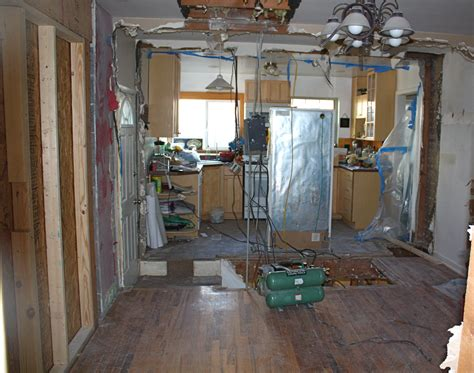 one big room kitchen remodel part one two peas their pod