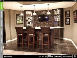 Home Bar Designs On A Budget by Turning Dining Room Area To Wet Bar Entertainment Area