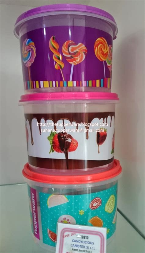 Window Canister 2 4l Tupperware tupperware brands malaysia catalogue collection
