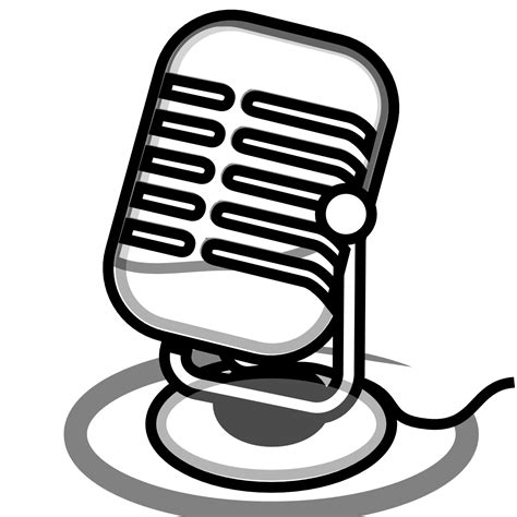 microphone clipart radio microphone clip clipart panda free clipart