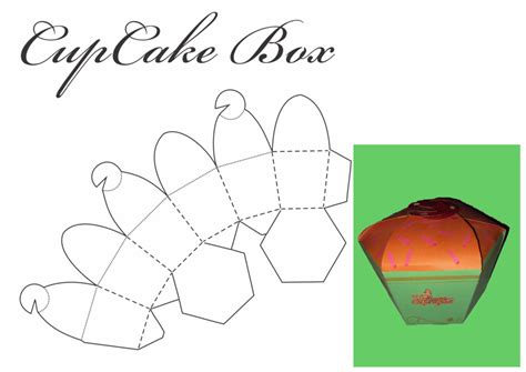 cupcake box template cupcake box by tonalleks on deviantart