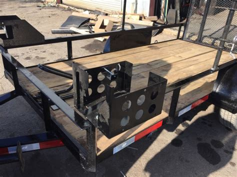 Racks For Trailers by Landscape Trailer Racks Accessories Warren Truck Trailer Inc
