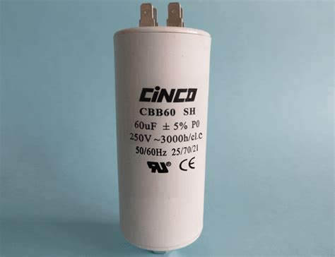 cbb60 capacitor 250v 60uf 60uf 250vac cbb60a motor run capacitors 4pins cinco capacitor china ac capacitors factory