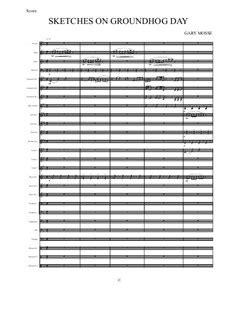 groundhog day musical sheet groundhog day musical sheet 28 images groundhog day