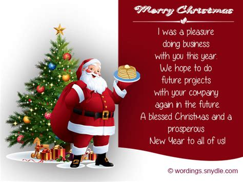 christmas messages  client wordings  messages