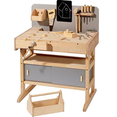 wooden work bench toy diy wooden toy workbench plans free