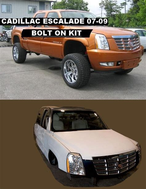 cadillac escalade front end conversion kit cadillac conversion end escalade front kit