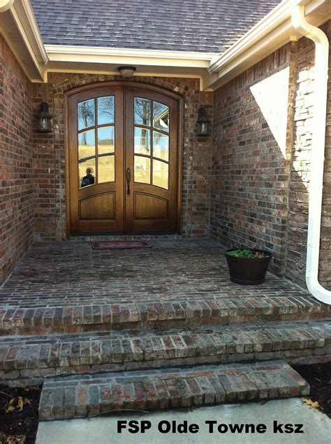 brick replace acme french chateau modern house