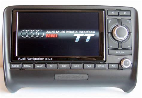 audi tt  rns  media  res  navigation  retrofit audio images