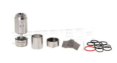 Dome Rba Rebuildable Atomizer 5 94 dome style rba rebuildable atomizer 2 5ml for nemesis mods 510 adapter at fasttech