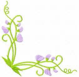 Flower border line design free download clip art free