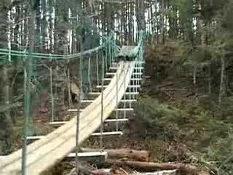 how to build a swinging bridge 487 best tree houses and forts images on pinterest