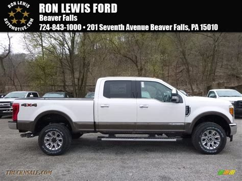 2017 Ford F250 King Ranch by 2017 Ford F250 Duty King Ranch Crew Cab 4x4 In White