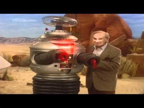 the robot and the lost in space dr smith and the robot youtube
