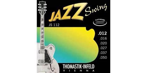 thomastik infeld jazz swing thomastik js112 flatwound jazz swing merchant city music
