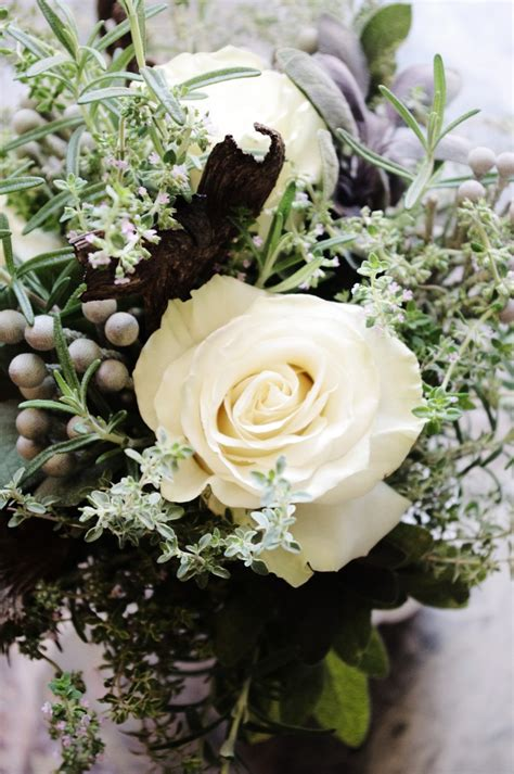 Wedding Bouquet Herbs by 15 Best Images About Woodsy Herb Bouquets On