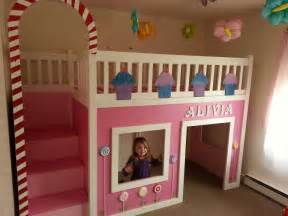 white candyland cottage loft bed diy projects