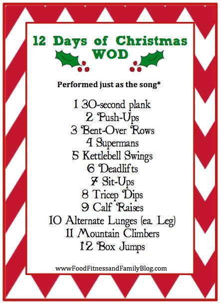 days  christmas workout fitness friday httpwwwfoodfitnessandfamilyblogcom