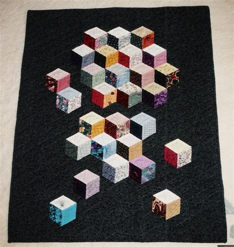 Tumbling Blocks Patchwork - best 25 tumbling blocks ideas on