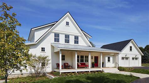 Breathtaking modern farmhouse nestled on a prairie setting in minnesota