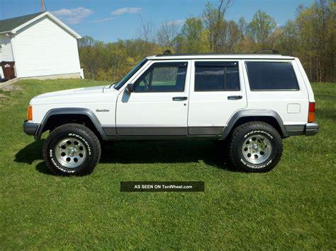 raised jeep cherokee 1995 jeep cherokee country 4x4 lifted