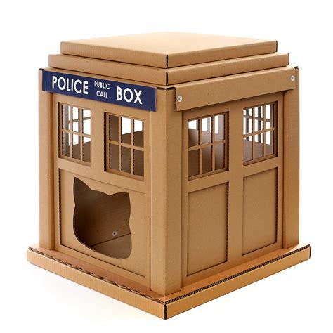 Dr Who Tardis Cat House Entering Into An Alternative World Tardis Cat House Plans
