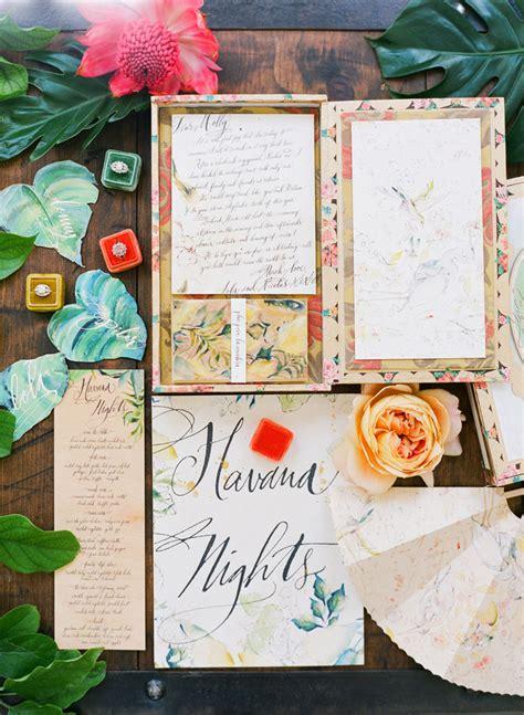 Cuban Inspired Decor by Cuban Inspired Wedding Shoot Best Wedding