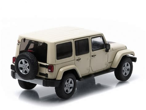 Diecast Jeep Wrangler Jeep Wrangler Unlimited Mojave Diecast 86073 86074