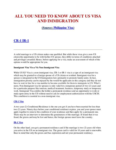 Employment Letter For Us Visa Sle All You Need To About Us Visa And Immigration