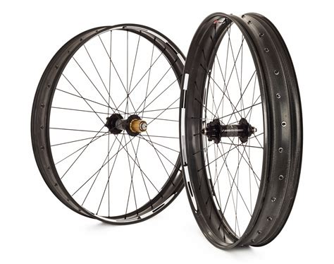Handmade Bicycle Wheels - hed offers details on carbon fatbike rims offers custom