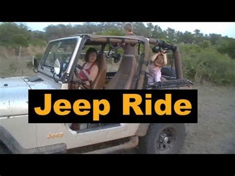 jeep driving away jeep driving on the hunting lease family time youtube
