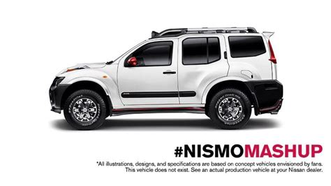 nissan xterra nissan xterra and juke nismo mashup looks awesome and they