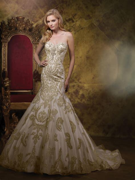Wedding Gold by Gold Wedding Dress Dresscab
