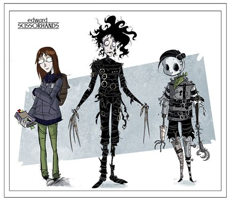 edward scissorhands idw publishing