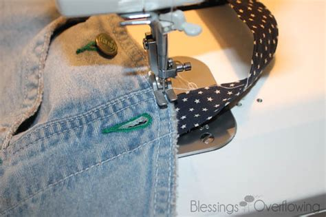 sewing apron straps how to make an apron from bib overalls