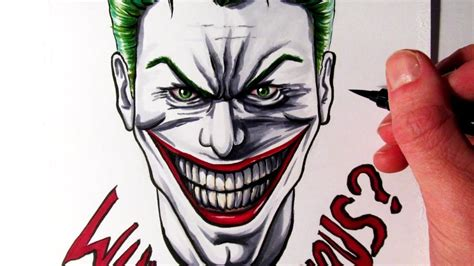 Drawing Joker by Cool Joker Drawings Www Pixshark Images Galleries