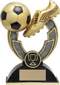 varsity golden boot and ball soccer trophy p rf02x20kg