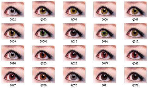 eye colors list eye colors list www pixshark images galleries with